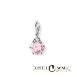 Bedel met roze kristal