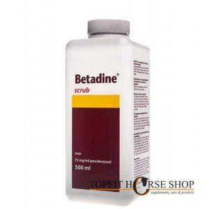 betadine scrub 500 ml TFHS