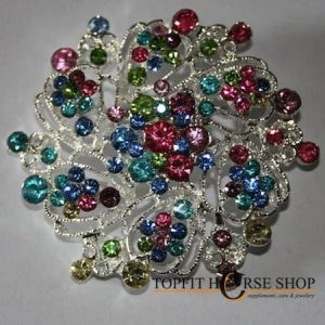 plastronspeld color strass