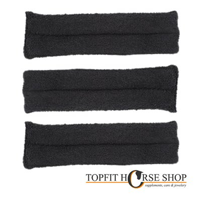 3 Kinbeschermers 18 cm zwart of wit