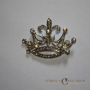 Plastronspeld kroon