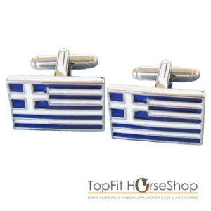 manchetknoop griekse vlag
