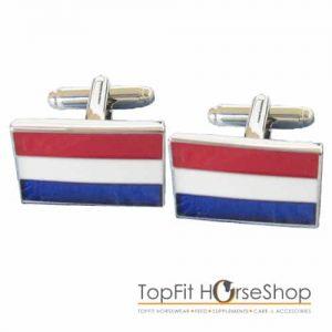 manchetknoop nederlandse vlag