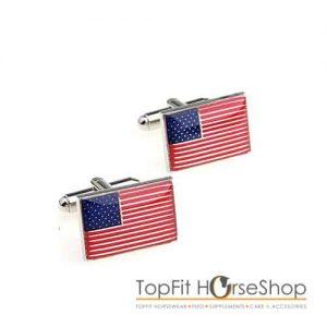 manchetknoop amerikaanse vlag