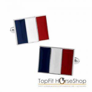 manchetknoop franse vlag