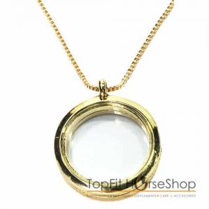 memory locket gold