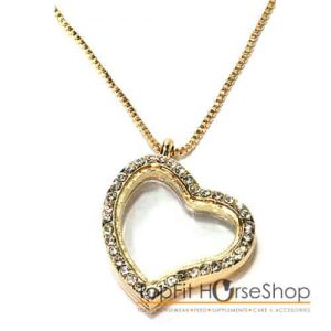 memory locket gold heart