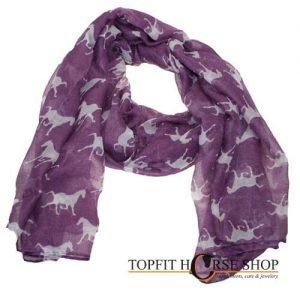 shawl paard paars