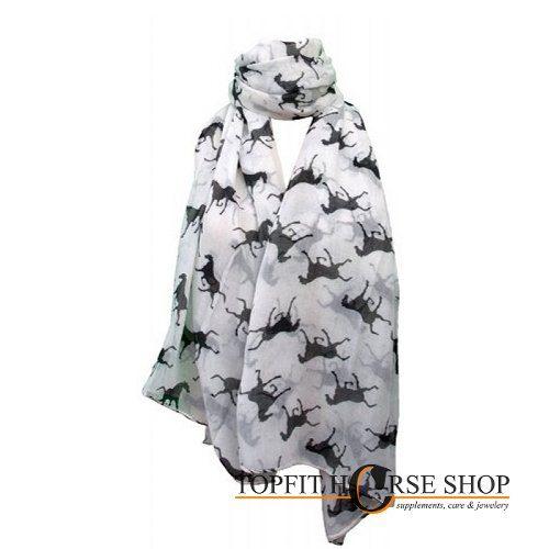 shawl paard wit