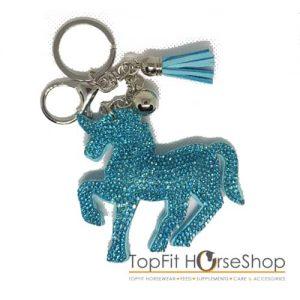 sleutelhanger-unicorn-turquoise
