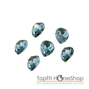 memory locket jewel blue